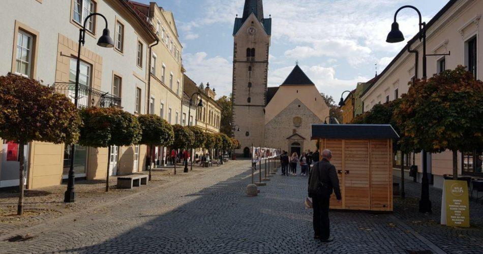 Slovenj gradec cerkev trg