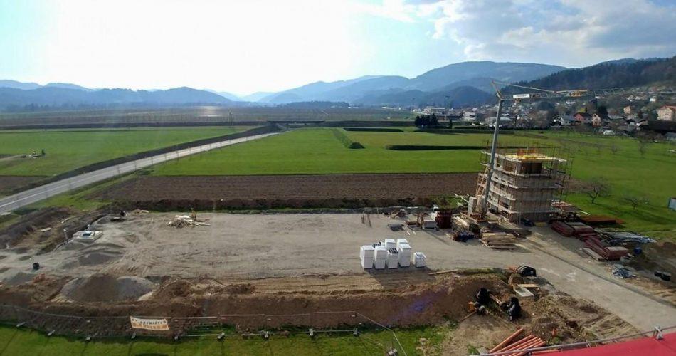 Gradnja regijskega poligona, Radlje (FOTO: PGD Radlje)