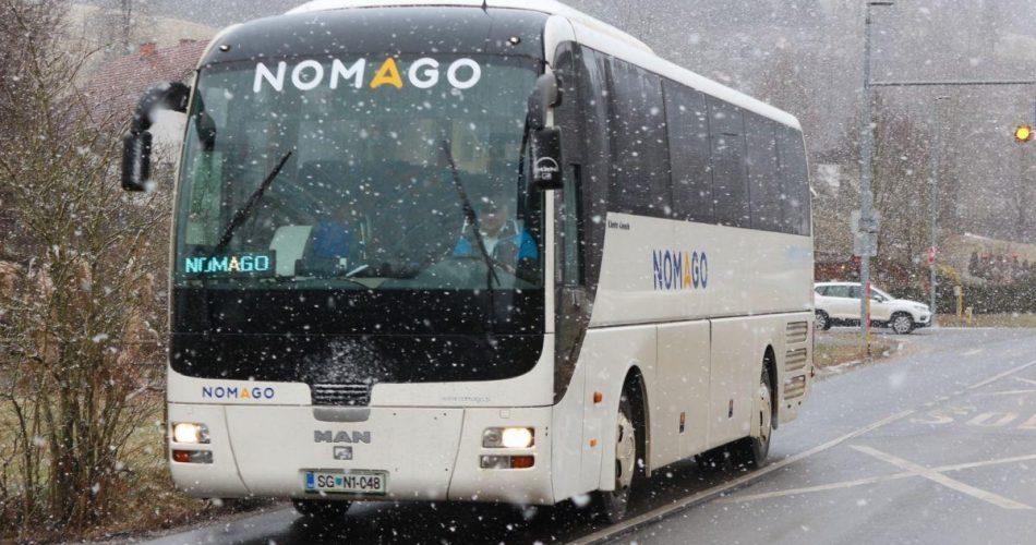 Nomago, avtobus